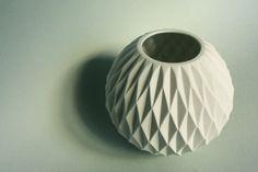 Op Art Vase.