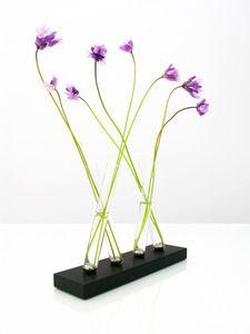 Adaptation Vase (aluminum/black) ~Perhacs Studio $149  http://perhacs.bigcartel.com/product/adaptation-vase-aluminum-silver