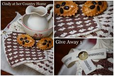 "Cindy at her Country Home: ""GIVE AWAY, celebration 5 years anniversary Cindy at her Country Home"""