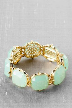 Belham Jeweled Filigree Bracelet