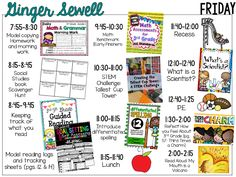 First Week Visual Plans and a Sneak Peek Assessment Strategy