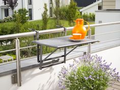 Plus de 1000 id es propos de balcon sur pinterest - Table suspendue balcon ...