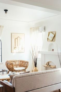 If you want to incorporate boho style into your home, mix and match greenery, throw pillows, fringe accents, woven wall hangings, and patterned rugs. In recent years, it's become popular to mix bohemian decor with other influences to create looks like beachy boho, minimalist boho, and California boho. #hunker #bohoinspiration #bohemiandecorideas Boho Inspiration, Woven Wall Hanging, Bohemian Decor, Boho Fashion, Minimalist, Throw Pillows, Interior Design, Furniture, Home Decor