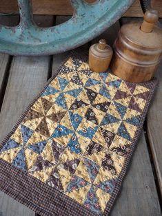 My 'windmill' quilt
