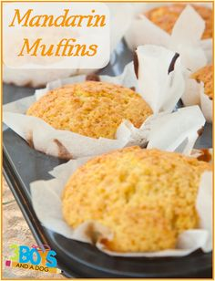 Yummy Orange Muffins Recipe