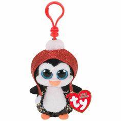 "8.5/"" TY Beanie Boos Christmas Gift Girls Nester the Owl Plush Stuffed Toy 2018"