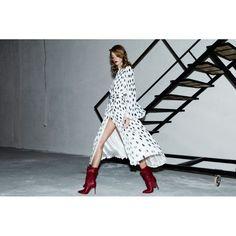 Saash.ro - Compleu retro voal plisat Romanian designer clothes