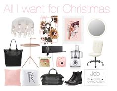 All I want for Christmas by stickysweetdanish on Polyvore featuring polyvore, interior, interiors, interior design, home, home decor, interior decorating, Ellos, Fujifilm and Bosch