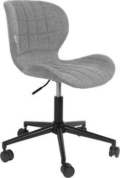 Zuiver OMG Office - Bureaustoel - Grijs/Zwart
