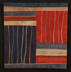 "Janet Steadman ""A Stitch in Time"" Fiber Wall Art Created by Janet Steadman"