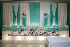 Creative Decor, Dessert Table, Backdrops, Curtains, Table Decorations, Wedding, Baby, Design, Home Decor