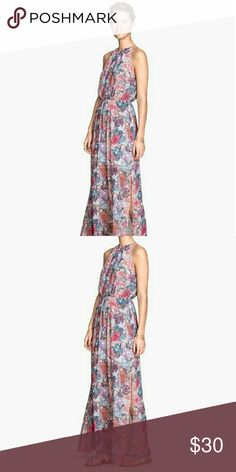 H&M Floral Maxi Dress This gorgeous pastel patterned maxi dress will make you feel like the queen of the garden! Pleated front and side slit. Absolutely stunning. Like new, worn once! H&M Dresses Maxi