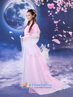 Time Syrianwomen sense cos costume female fairy tail Han-gwi princess ancient ethnic costumes gliding stage you can multi-select attributes by using the pink floor is skirt code suitable for time Syrian.... 160-175cm, shopping on the Internet