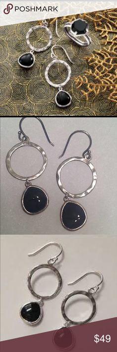 Silpada W3291 Dark Halo Earrings NWT Silpada beautiful black drop .925 Sterling silver earrings. NWT comes withSilpada storing bag & Silpada box. Free gift with any bundle  Silpada Jewelry Earrings