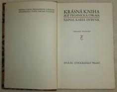 Dyrynk – Krásna kniha, její technická úprava (titulná strana)