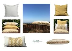 Casual pillows with designer fabrics suitable for In and Outdoors_for more check out our online store www.sohildesign.com