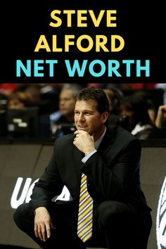 Steve Alford is an American basketball coach. Find out the net worth of Steve Alford.