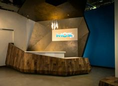 3rd Reception Desk Featuring Interesting And Intriguing Design