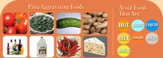 Ayurveda PITTA - Aggravating Foods - More Pitta Tips: http://www.foodpyramid.com/ayurveda/pitta-dosha/ #pitta #dosha #ayurveda