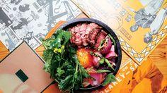 Parachute's Steak-and-Egg Bibimbap Recipe | Bon Appetit