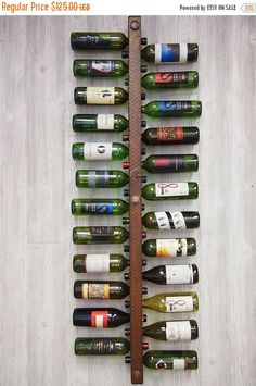 SALE Vertical Wine Rack 24 Bottle High Capacity
