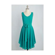 Long Sleeveless A-line The Dancer to Your Questions Dress ($60) ❤ liked on Polyvore featuring dresses, apparel, fashion dress, green, sleeveless dress, green sleeveless dress, blue a line dress, long day dresses and blue sleeveless dress