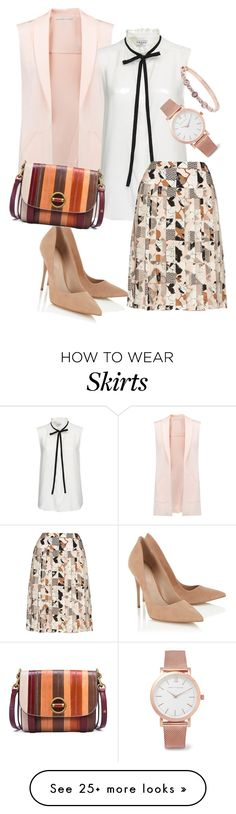 """pumps"" by masayuki4499 on Polyvore featuring Rebecca Minkoff, Frame Denim, Oscar de la Renta, Lipsy, Tory Burch, Givenchy and Larsson & Jennings"