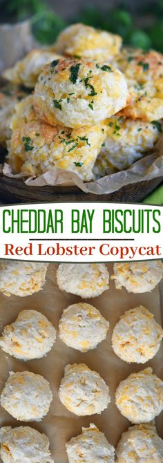 These Cheddar Bay Biscuits Red Lobster Copycat Are Entirely Irresistible And Can Be On Your Table In Less Than 20 Minutes I Dare You To Eat Just One Packed With Cheesy Goodness, These Easy Biscuits Are The Perfect Addition To Every Meal Mom On Timeout Cheddar Bay Biscuits, Queso Cheddar, Easy Biscuits, Cheddar Cheese, Copycat Recipes, Bread Recipes, Cooking Recipes, Scone Recipes, Easy Recipes
