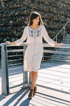 Eden Embroidered Dress