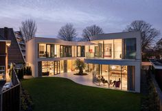 A house in Rotterdam by MVRDV, built around an olive tree
