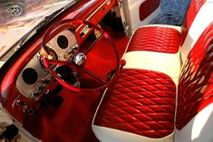 ford interior -ℛℰ℘i ℕnℰD by Averson Automotive Group LLC Car Interior Upholstery, Automotive Upholstery, Custom Car Interior, Truck Interior, Ford Pickup Trucks, Chevy Trucks, Lifted Trucks, Classic Trucks, Classic Cars