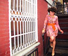 Oonaballoona's dress from Mood's wool jersey. #moodfabrics