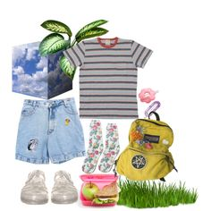 13. picnic on the grass, created by poolboy on Polyvore