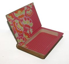 Hollow Book Safe A Rose Of A Hundred Leaves Cloth Bound Vintage Secret…