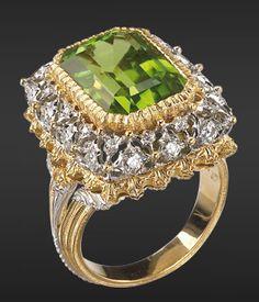 Ring - Buccellati's High Jewellery. Http://www.buccellati.com