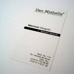 dan mishelle business card | © all rights reserved