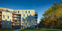 Kjellander + Sjöberg Architects - Annedal Terraces - View from the west