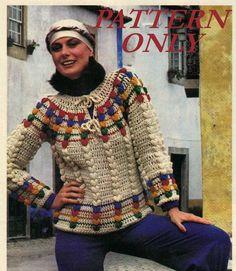 Instant download crochet pattern  women's by CottageCreationsForU, $3.99