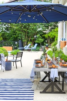 Outdoor Dining Inspiration - Maison de Pax