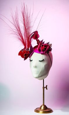 """My Rose Monique for the Master milliner Anya Caliendo for The """"Manolo"""" Hat, Created For 2015 Couture Council Of FIT Artistry Of Fashion Award Presented to Manolo Blahnik -"""