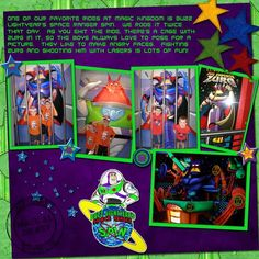 Buzz Lightyears Space Ranger Spin - MouseScrappers.com