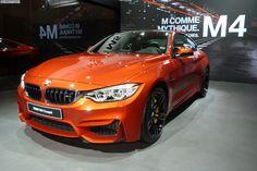 2014 Paris Motor Show: BMW M4 Coupe in Sakhir Orange - http://www.bmwblog.com/2014/10/03/2014-paris-motor-show-bmw-m4-coupe-sakhir-orange/