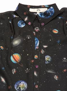Outer space shirt