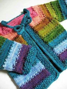 Crochet Patterns Free Baby Cardigan Libraries 33 Ideas For 2019 Baby Knitting Patterns, Baby Sweater Patterns, Knit Baby Sweaters, Knitted Baby Clothes, Knitting For Kids, Baby Patterns, Stitch Patterns, Crochet Patterns, Knitting Sweaters
