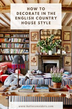 How to decorate your home in the English country style - Katie Considers - Wi . - How To Decorate Your Home In English Country Style – Katie Considers – How To Decorate In Engli - # English Cottage Kitchens, English Cottage Interiors, English Cottage Style, English Country Decor, English Style, French Country, Modern English, English House, French Cottage
