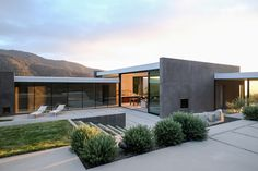 modernist contemporary house - Wild Lilac - walker workshop - exterior