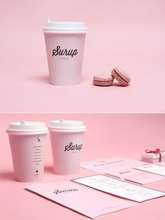 // Surup Cafe / Designed by Sergey Parfenov, Moscow, Russia // - very feminine based design with soft colours, tones, curves and lines.