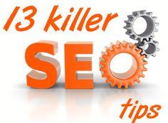 13 Killer SEO Tips For Beginner Bloggers #socialmediamarketing #blogging  www.themediagenius.com
