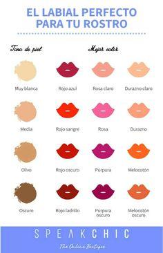 How to choose the perfect lipstick colour Love Makeup, Simple Makeup, Makeup Tips, Makeup Looks, Hair Makeup, Beauty Make Up, Beauty Care, Hair Beauty, Beauty Secrets