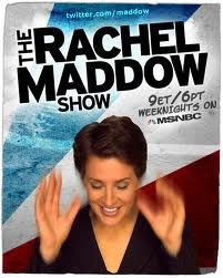 My journalism job fantasy is working as a researcher for Rachel Maddow.